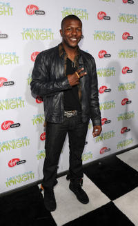 Edwin Hodge at the California premiere of