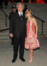 Graydon Carter and Anna Carter at the Vanity Fair party for the 2008 Tribeca Film Festival.