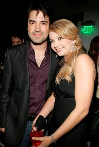 Ron Livingston and Elisabeth Harnois at the after party of the premiere of