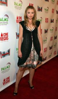 Elisabeth Harnois at the opening of