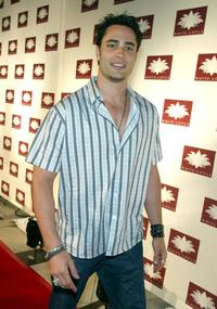 Victor Webster at the grand opening of the club/restaurant White Lotus.