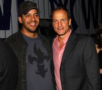 David Blaine and Woody Harrelson at the New York premiere of