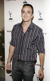 Hank Azaria at the Academy of Television Arts and Sciences' reception for Emmy Award nominees in Beverly Hills.