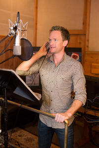 Neil Patrick Harris on the set of