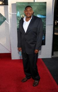 Omar Benson Miller at the Creative Visions Foundation's Screening of
