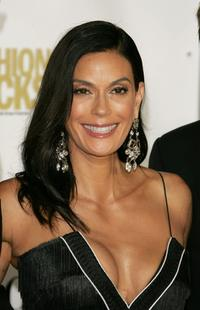 Teri Hatcher at the Conde Nast Media Group's Fourth Annual Fashion Rocks Concert.