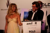Goldie Hawn and Kurt Russell at auction at the Cinema Against AIDS 2007 in aid of amfAR at Le Moulin de Mougins during the 60th International Cannes Film Festival.