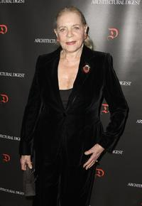 Lauren Bacall at the