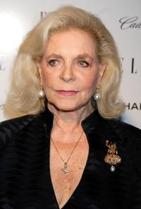 Lauren Bacall at the Elle's 14th Annual Women in Hollywood party.