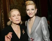 Lauren Bacall and Cate Blanchett at the after party of the premiere of