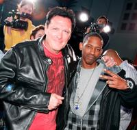 Michael Madsen and Kurupt at the premiere of