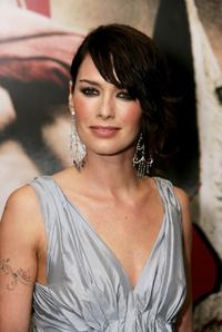 Lena Headey at the premiere of