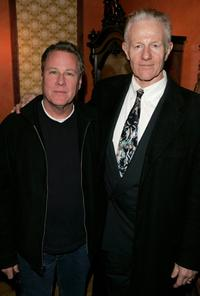 John Heard and Raymond J. Barry at the premiere party for