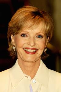 Florence Henderson models at the 33rd Annual Celebrity Fashion Show and Auction.