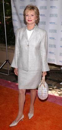 Florence Henderson at the Lifetime Television
