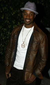 Darrin Henson at the Pelle Pelle Celebrity Catwalk for Chariry.