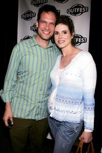 Diedrich Bader and Dulcy Rogers at the Outfest