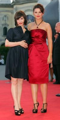 Sally Hawkins and Hayley Atwell at the premiere of