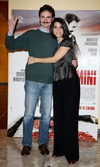 Edoardo Winspeare and Donatella Finocchiaro at the photocall and press conference of