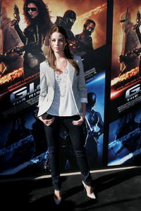 Rachel Nichols at the press conference of