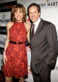 Hannah Storm and Dan Hicks at the premiere of