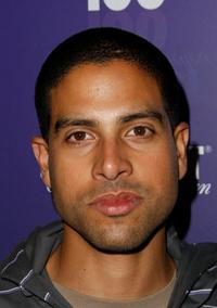 Adam Rodriguez at the Absolute 100 Party of Kanye West's Glow In The Dark Tour.