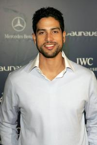 Adam Rodriguez at the Laureus Welcome Party.