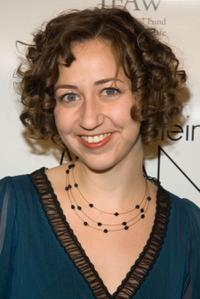 Kristen Schaal at the Radar's toast to The New Radicals at New Museum.