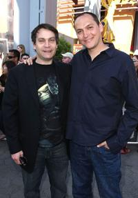 David Maisel and Louis Leterrier at the premiere of