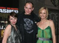 Louis Leterrier, Amber Valletta and Guest at the special screening of