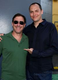 Adam Fogelson and Louis Leterrier at the premiere of