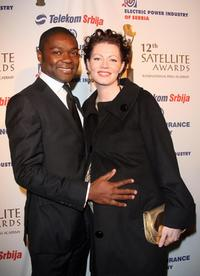 David Oyelowo and Jessica Oyelowo at the 12th Satellite Awards.