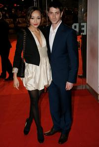 Iddo Goldberg and Guest at the European premiere of