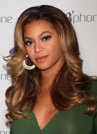 Beyoncé Knowles at the launch of the