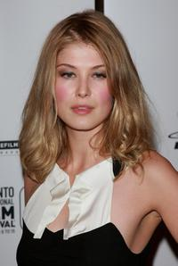 Rosamund Pike at the North American premiere of