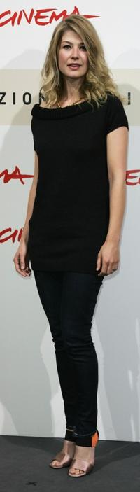 Rosamund Pike at the photocall of