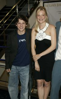 Jamie Bell and Romola Garai at the premiere of