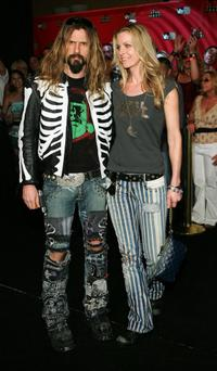 Rob Zombie and Sheri Moon Zombie at the VH1 Rock Honors.