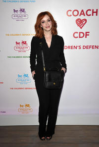 Christina Hendricks at the Evening of Cocktails and Shopping to Benefit the Children's Defense Fund in California.