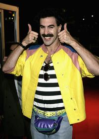 Sacha Baron Cohen at the Times BFI 50th London Film Festival for