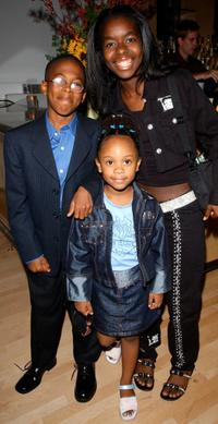 Jeremy Suarez, Dee Dee Davis and Camille Winbush at the premiere party of