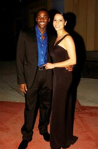 Derek Luke and wife Sophie at the Australian premiere of