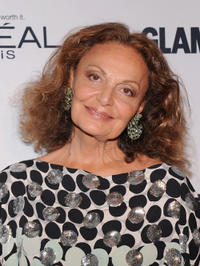 Diane Von Furstenberg at the 22nd annual Glamour Women of the Year Awards.