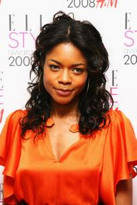 Naomie Harris at the Elle Style Awards 2008.