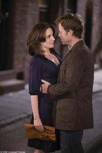 Tina Fey and Greg Kinnear in