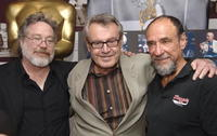 Tom Hulce, Milos Forman and F. Murray Abraham at the