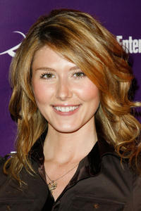 Jewel Staite at the Sci-Fi Channel and EW magazine Comic-Con party in California.