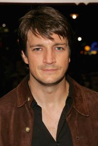 Nathan Fillion at the UK premiere of