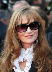 Isabelle Huppert at the 60th Cannes Film Festival.