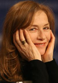 Isabelle Huppert at the 56th Berlinale Film Festival.